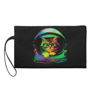 Bolsito De Fiesta Gato del inconformista - astronauta del gato -