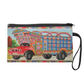 Bolsito De Fiesta Mitones del arte del camión de Paquistán