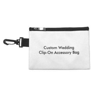 Bolso accesorio con clip del boda de encargo