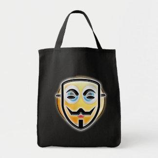 Bolso anónimo divertido del caramelo de la máscara