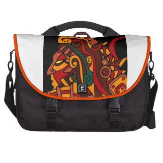 Bolso azteca del ordenador portátil del diseño bolsa para ordenador