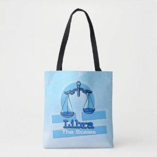 Bolso azul de la muestra del aire de la astrología