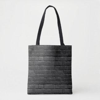 Bolso blanco y negro del ladrillo