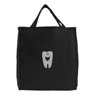 Bolso bordado dentista bolsa de tela bordada
