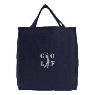 Bolso bordado golf bolsa bordada