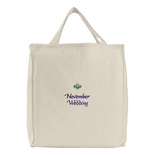 Bolso bordado natural del boda de noviembre bolsas de mano bordadas