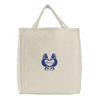 Bolso bordado personalizado del corazón de Kokopel Bolsas