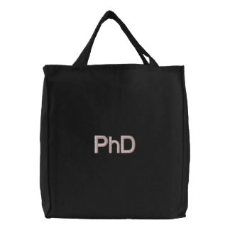 Bolso bordado PhD