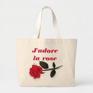BOLSO color de rosa del la de J'adore Bolsa Tela Grande