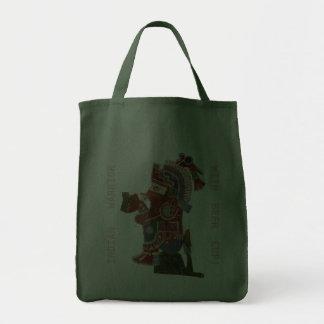 Bolso con el guerrero del indio del maya bolsa de mano