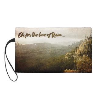Bolso cosmético del día lluvioso con el mitón
