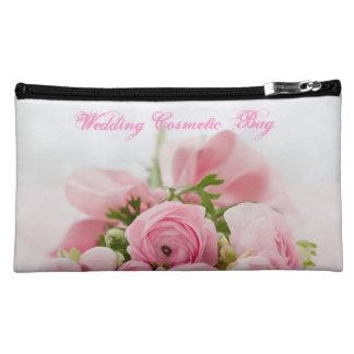 Bolso cosmético medio de Sueded del boda