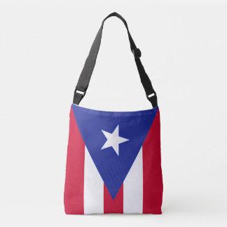 Bolso Cruzado Bandera de Puerto Rico - Bandera de Puerto Rico