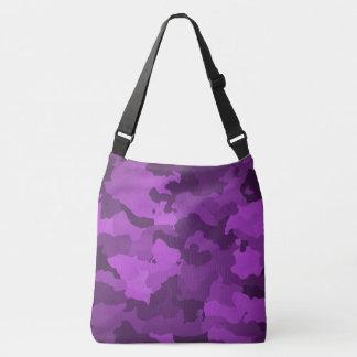 Bolso Cruzado Camo púrpura
