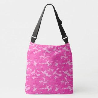 Bolso Cruzado Camo rosado