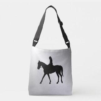 Bolso Cruzado Chica en la plata del caballo