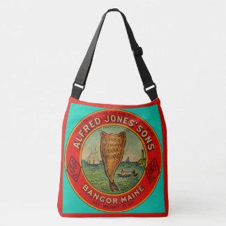 Bolso Cruzado circa la etiqueta 1900 de Finnan Haddie de los