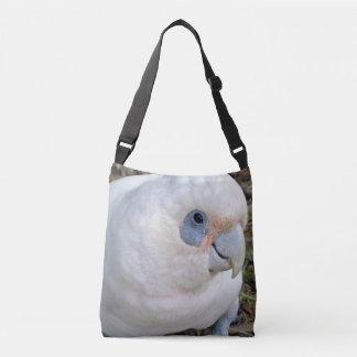 Bolso Cruzado Cockatoo blanco de la cara fresca,