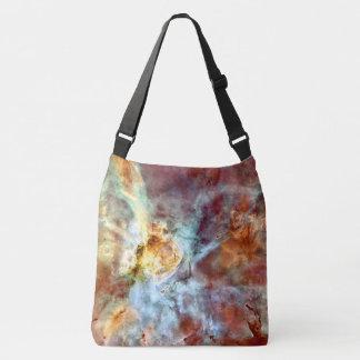 Bolso Cruzado El espacio empaqueta el extracto colorido