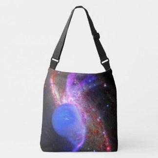 Bolso Cruzado El espacio empaqueta el planeta azul