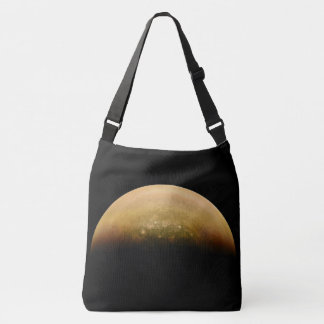 Bolso Cruzado El espacio empaqueta Júpiter Sunlit