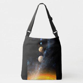 Bolso Cruzado El espacio empaqueta la Sistema Solar
