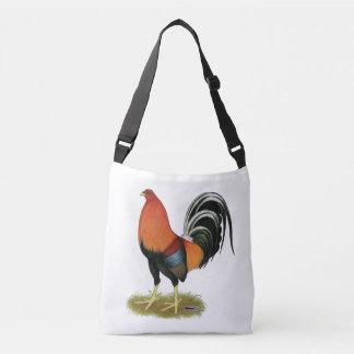 Bolso Cruzado Gallo de trigo del gallo de pelea