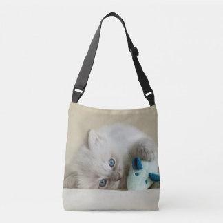 Bolso Cruzado gatito viejo de Ragdoll de 6 semanas