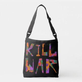 Bolso Cruzado Guerra de la matanza (flower power)