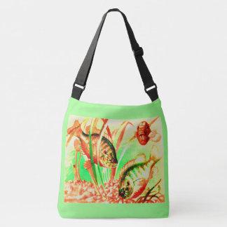 Bolso Cruzado impresión de agua dulce del sunfish
