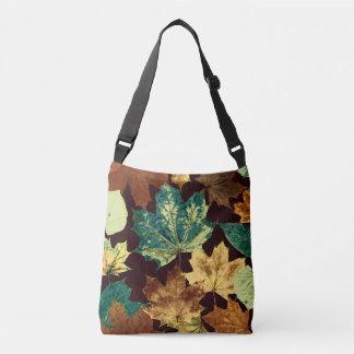 Bolso Cruzado Leaves áureas