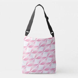 Bolso Cruzado los labios color de rosa femeninos elegantes del