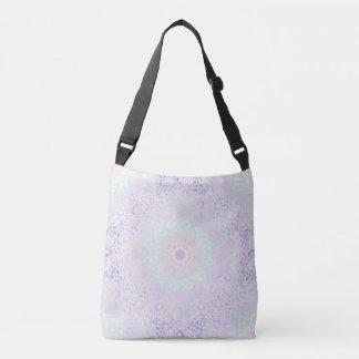 Bolso Cruzado Mandala en colores pastel del amor suave (grande)