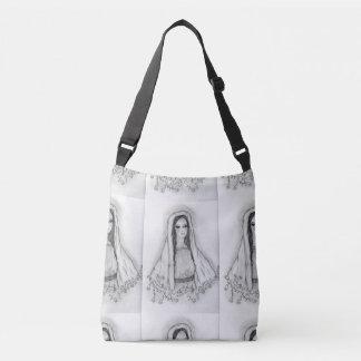 Bolso Cruzado Maria con los rosas