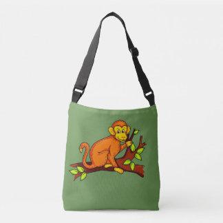 Bolso Cruzado Mono del ejemplo del vector