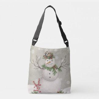 Bolso Cruzado muñeco de nieve moderno del invernadero del