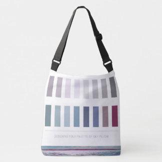 Bolso Cruzado Paleta de colores grande del diseño interior del