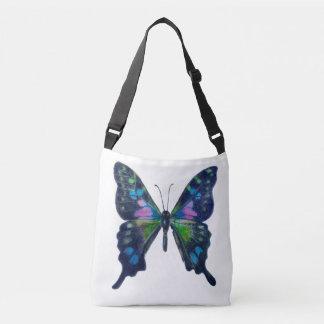 Bolso Cruzado Personalizado de la mariposa todo encima - imprima