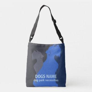 Bolso Cruzado Personalizado del perro DIY del Schnauzer