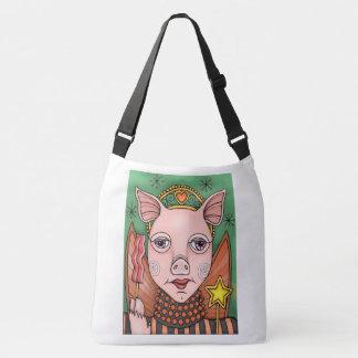 Bolso Cruzado Princesa de hadas Color Design del tocino