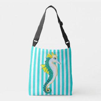 Bolso Cruzado rayas del trullo del seahorse