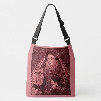 Bolso Cruzado Reina Elizabeth I en rosa