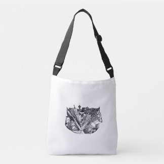 Bolso Cruzado shoulder bag - city en 3 point perspective
