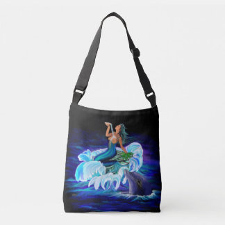 Bolso Cruzado Sirena con el delfín