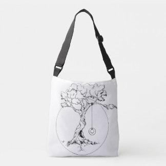 Bolso Cruzado Tote del árbol de sombra