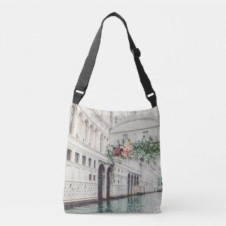 Bolso Cruzado Tote floral de Venecia