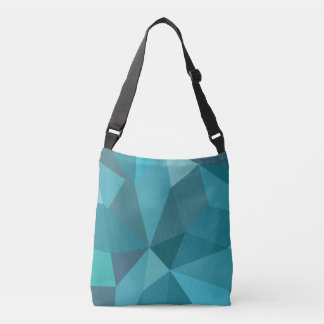 Bolso Cruzado Tragetasche Stylische en tonos de azul