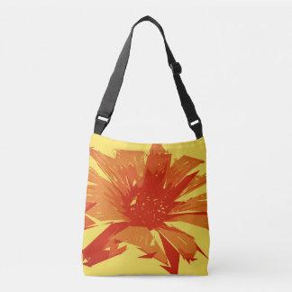 Bolso Cruzado Verano floral abstracto Duotone
