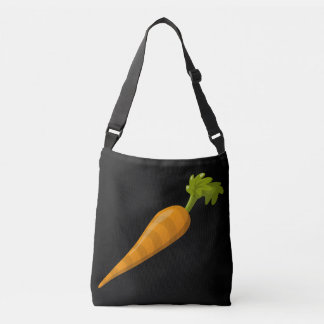 Bolso Cruzado Zanahoria de la comida de la interferencia