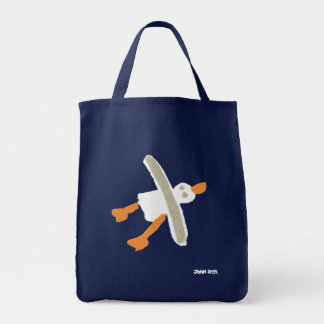 Bolso de compras de la gaviota el tintóreo de Juan